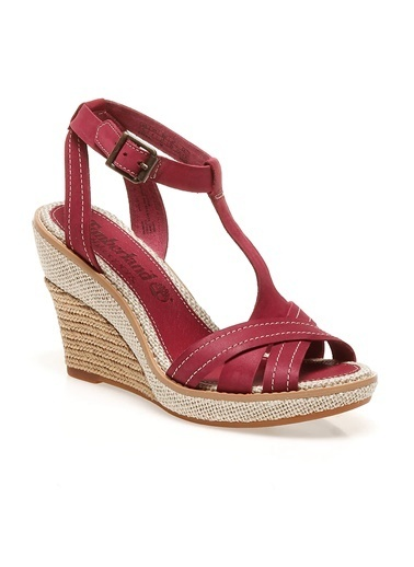 Timberland Ayakkabı Kırmızı